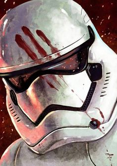 star wars - the force awakens - stormtrooper Star Wars Film, Star Wars Fan Art, Star Wars Baby, Sith, Clone Wars, The Dark Side, The Force Is Strong, Love Stars, Chewbacca