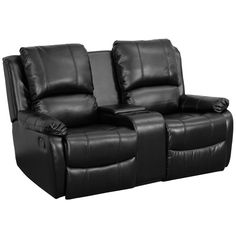 Complete your theater room with this comfortable theater style seating. Reclining furniture offers the best in relaxation for you to kick up your feet to watch TV, work on a laptop, or to just hang ou