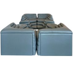 De Sede Terrazza Sofa By Ubald Klug. This sofa is awesome...clever design!
