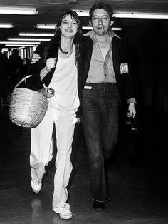 7 Timeless Jane Birkin Outfits via Serge Gainsbourg, Gainsbourg Birkin, Charlotte Gainsbourg, Estilo Jane Birkin, Jane Birkin Style, Timeless Classic, Timeless Fashion, Classic Fashion, Fashion Vintage