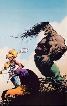 Page from The Maxx (Mar by Sam Kieth. Comic Book Artists, Comic Book Characters, Comic Artist, Comic Character, Comic Books Art, Character Design, Writing Fantasy, Fantasy Art, The Maxx