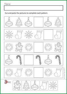 Christmas Math Activities | Math & Literacy Worksheets & Activities - Christmas {98 pages} A page ...