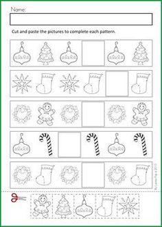 Christmas Math Activities | Math & Literacy Worksheets & Activities - Christmas {98 pages} A page ...