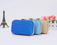 Fashion Retro Box Mini Cltuch Evening party purse shoulder bag women's bag  #GL #Clutch