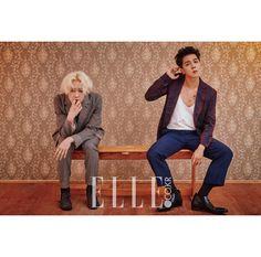 송민호와 남태현, 극과 극의 브로맨스 | 엘르코리아(ELLE KOREA)