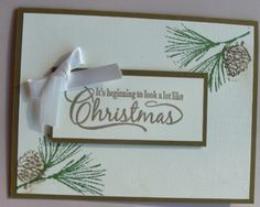 Beginning to look by CAR372 - Cards and Paper Crafts at Splitcoaststampers