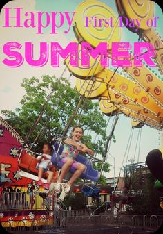 Day of Summer First Day Of Summer, 1st Day, Happy, Travel, Voyage, Ser Feliz, Viajes, Traveling, Happiness