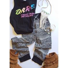 Boho kid | Poly tribal pant D.A.R.E tee EUC size: 7/8 runs closer to a 4/5t $13.00 } Poly tribal pant BNWT size: 4 $18.00 } Boho Necklace } baby bangles 2 for $19 Other
