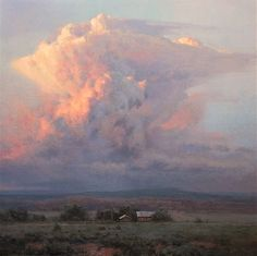Thunder Light by Michael Godfrey Sky Painting, Painting & Drawing, Watercolor Paintings, Cloud Art, Landscape Artwork, All Nature, Sky And Clouds, Beautiful Paintings, Art Oil