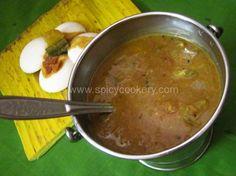 Sambar-Palakkad style | http://spicycookery.com/sambar-palakkad-style-with-coconut