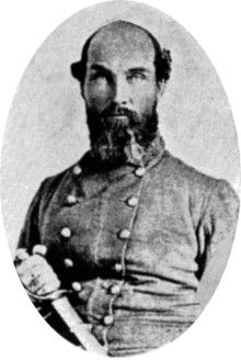 John Baylor, first governor of Arizona (Confederate Territory). He was a Colonel in the Confederate army (Texas), and served as governow of Arizona Territory from 1861 - 1862.