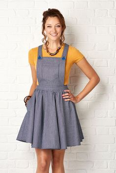 The Sunday Set dress. Simply sewing #21