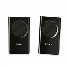 Sony SRS-M30 Active Speaker System - Black by Sony. $21.14. Flat speaker panelsLeft and right channels attach for easy portability39mm neodymium magnet thin type unit500mW max outputUses 3 AAA batteries (not included) or AC powerIncludes AC adapter