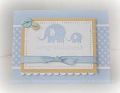 Bashful Blue Baby Steps... by bigsky - Cards and Paper Crafts at Splitcoaststampers