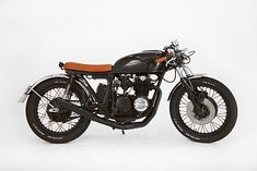 '77 Honda CB500 – 'La Bambina' This bike is absolutely gorgeous! Exactly what I'm getting next. ..