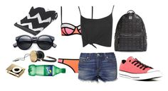 """""""Untitled #498"""" by audpecan55 ❤ liked on Polyvore featuring Converse, rag & bone, Boohoo, MCM, TTYA and Frends"""