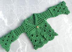 Emerald Isle - cardigan 16' fashion doll