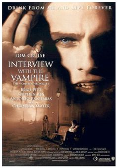 """QC256 - """"Interview with the Vampire"""" / Neil Jordan 1994 / Horror / (USA)"""