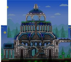Eldoro, Terraria - Part of the Swan Building I think