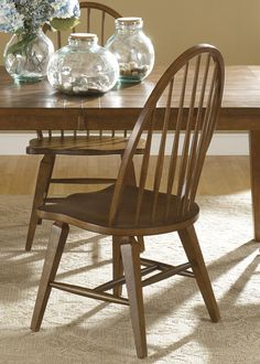 Gothic Cabinet Craft - Caprice Windsor back Chair, Set of 2, $209.00 (http://www.gothiccabinetcraft.com/caprice-windsor-back-chair-set-of-2/)