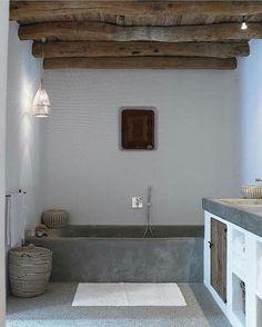 Just loving this bathroom via interior blogger @byruth