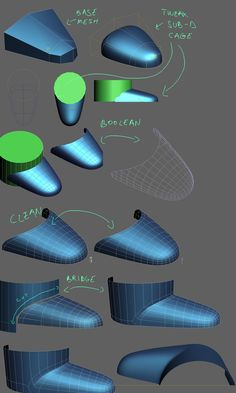 FAQ: How u model dem shapes? Hands-on mini-tuts for mechanical sub-d AKA ADD MORE GEO - Page 110 - Polycount Forum