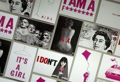 Range of material produced by Lillias Kinsman-Blake   #FontsforFeminism @GraphicsUKwomen  via @tonyplcc