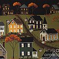 House On Haunted Hill Painting by Catherine Holman