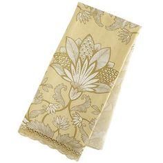 Gold Print Tea Towel