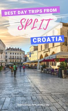 Jun 2019 - There are various Croatia day trips starting from Split that makes the city the perfect springboard for adventure. Here are our top day trips from Split. Croatia Travel Guide, Europe Travel Guide, Italy Travel, Travel Guides, European Destination, European Travel, Krka Waterfalls, Diana, Viajes