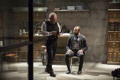Dr. Robert Ford and Bernard, Westworld Episode 8