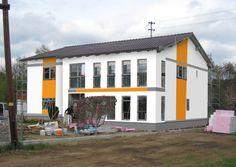 Fassadengestaltung, Farbgestaltung, Architekturfarbe, Fassadenfarbe    Kreative Fassaden   René Schuch GmbH