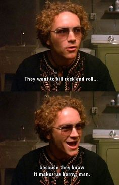 That Show Photo: hyde and rockn roll That 70s Show Quotes, Tv Show Quotes, Thats 70 Show, Hyde That 70s Show, Non Plus Ultra, 70s Aesthetic, I Have A Crush, Rockn Roll, Friends Tv