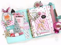 cheryl.plans: Good Morning!  Moved into this for the Christmas period. I always love coming back to this mint Kikki K. It all started with this beauty which I received as a Christmas present from my parents.