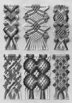 DMC Macrame Pattern and Instruction Book - Beadworking & Bead Art ...