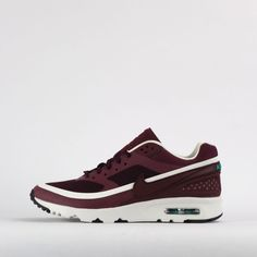 Nike Air Max BW Ultra Womens Classic Casual Trainers Shoes Night Maroon 2016 #Nike #CasualTrainers