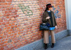 MFW-Street-Day2-24 – Vogue. Wide leg pants.