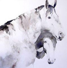 september vhay: horse giclees