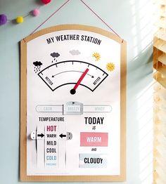 Printable Weather station