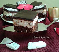 Ciasto czekoladowe z masą kokosową