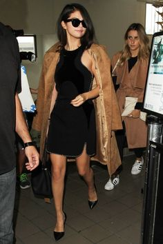 This airport outfit is totally on-point, but you have to see Selena Gomez's rain look, too