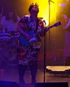 Led by Brittany Howard, the band unleashed raw confessions and extreme tempos at the second of two sold-out shows at the Beacon Theater.