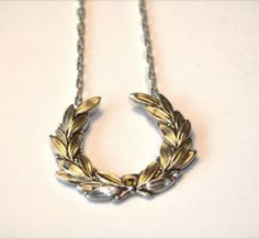 Victory Wreath Necklace....a great gift for that someone who is always right:) lol