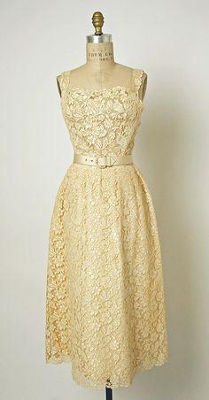 1952 Dior Dinner Dress