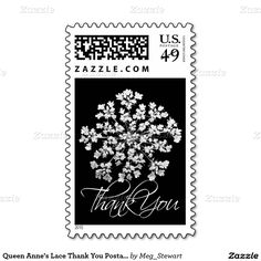 Queen Anne's Lace Thank You Postage