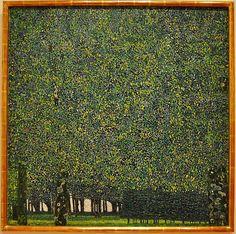 Gustav Klimt, The Park, 1910
