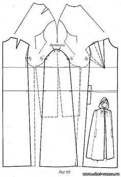 Cape , patterns instructions