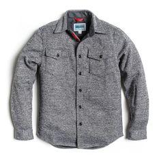 North Coast Shirt Jacket - Heather Gray
