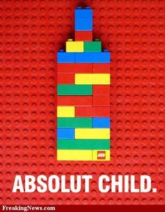 Amazing. #lego #absolut #ad