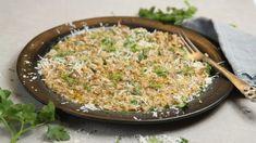 Foto: Tone Rieber-Mohn / NRK Frisk, Fried Rice, Risotto, Salsa, Grains, Pizza, Bacon, Ethnic Recipes, Food